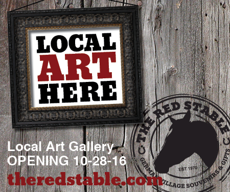 """The Red Stable, the original OHIO-made art and gift shop plans local art gallery opening for Friday, October 28, 2016. The second floor of the shop will offer an additional 800 square feet of local art gallery space, featuring German Village, Columbus and Ohio themed artists and/or artwork. """"There w..."""
