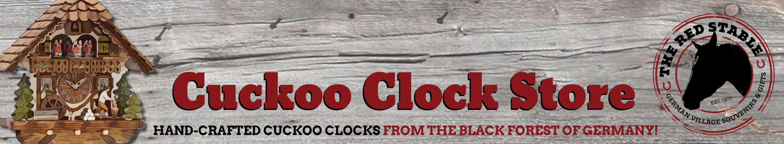 Cuckoo Clock Sale @theredstable